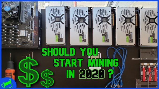 Should You Start Mining Cryptocurrency In 2020? + How Much $$ Can You Make?