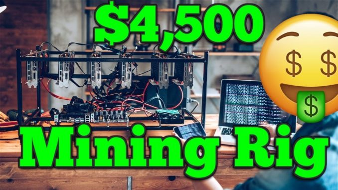 I Just Spent $4,500 On A Crypto Mining Rig - Let Make Some Crypto :) #Shorts
