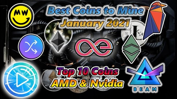 Most Profitable Cryptocurrency to Mine ⛏ January 2021 🤑