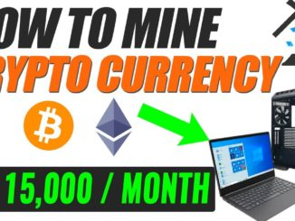 HOW TO MINE CRYPTOCURRENCY FROM PC/LAPTOP | WINDOWS 10 FULL MINING TUTORIAL
