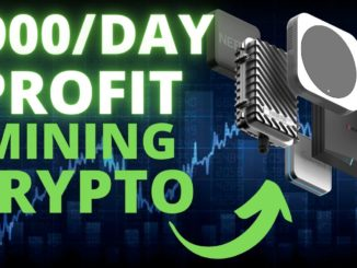 $900/Day Profit Mining Crypto With A $350 Miner!?