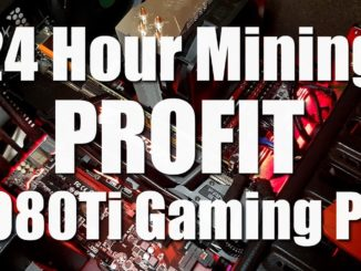 1080Ti Gaming PC Mining Crypto For 24 Hours - How Much Profit?