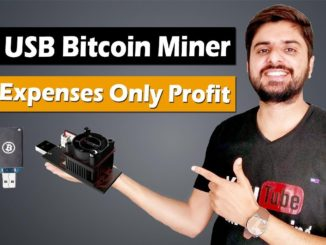 Start Bitcoin Mining with USB Miner | No Expenses Only Profit | USB Bitcoin Miner