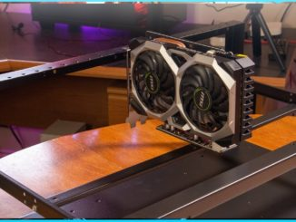 The Pan Mining Rig Frame   GPU Cryptocurrency Mining Rig Frame   Zcoin Grin Eth ProgPow RVN