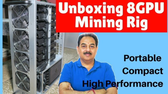 [Unboxing] New Mining Rig 8GPU | Portable | Compact | High Performance