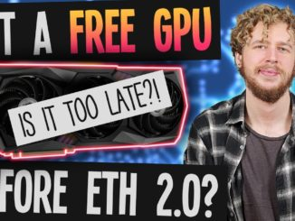 Can any GPU still pay for itself before Ethereum Mining ends? (ROI BY ETH2.0) Best GPU for ETH 2021!