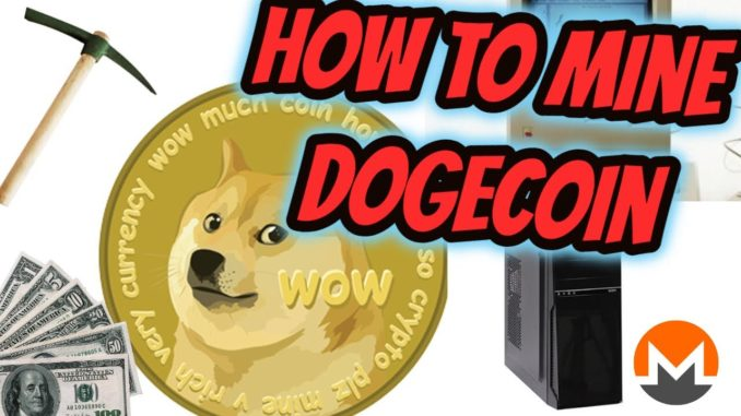 How to Mine Dogecoin on any computer