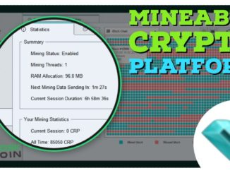 MINING a newer CRYPTOCURRENCY that's building a whole PLATFORM
