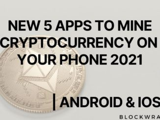 Top 5 New Cryptocurrency Mining Apps on Mobile Android | IOS  2021 | Blockwraith