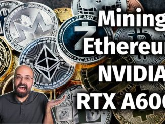 What is NVIDIA RTX A6000 Ethereum Cryptocurrency Hash Rate